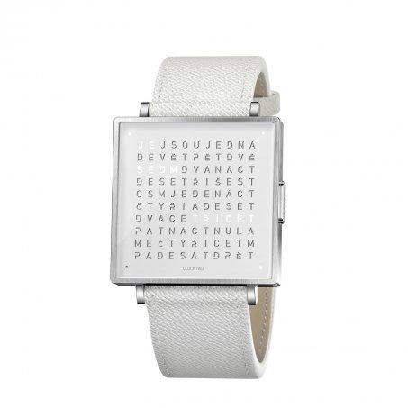 Qlocktwo W39 – Pure White
