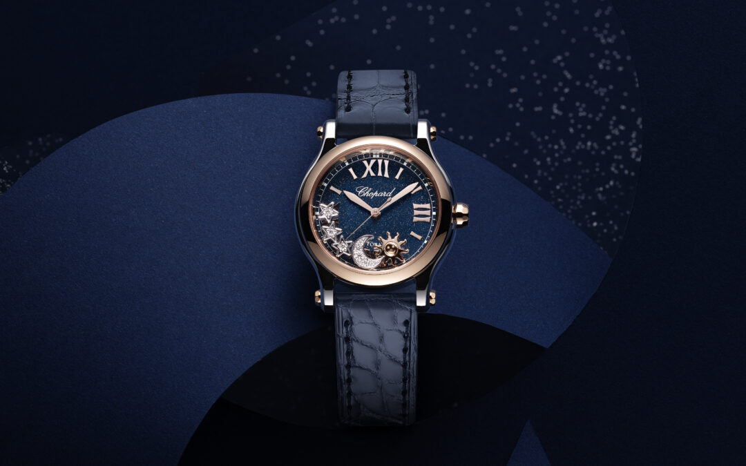 Chopard odhalil model hodinek Happy Sport Sun, Moon & Stars inspirovaný roztančenou hvězdnou oblohou
